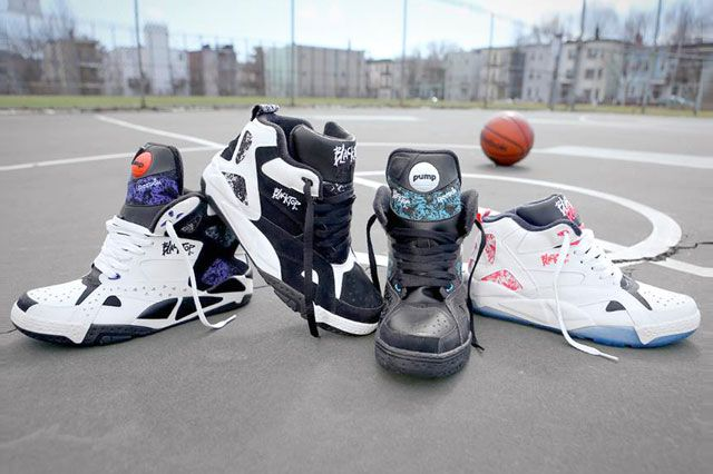 The Reebok Classic Blacktop Collection Feature