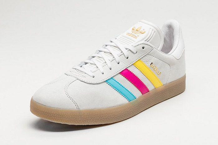 Adidas Gazelle Vintage White Colour Stripe 2