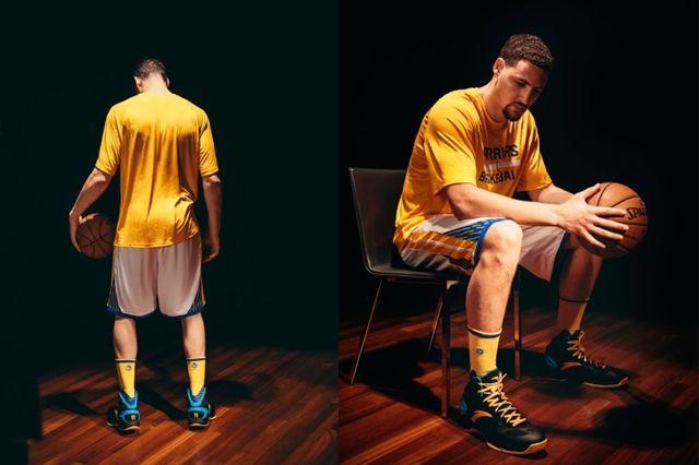 Klay Thompson Stance Warriors Socks