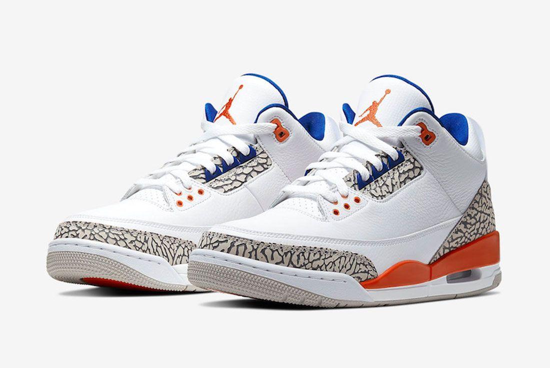 Air Jordan 3 Knicks 136064 148 2019 Release Date Price 4 Pair
