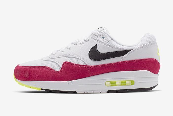 Nike Air Max 1 Rush Pink Lateral