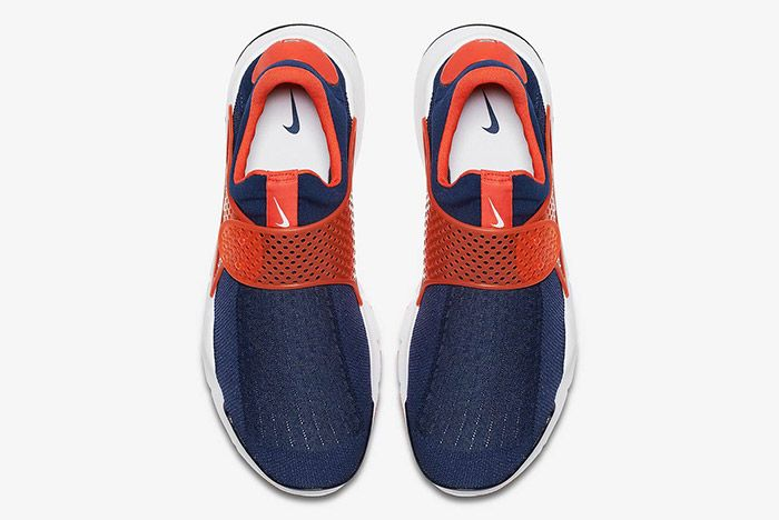 Nike Sock Dart Navy Orange 3