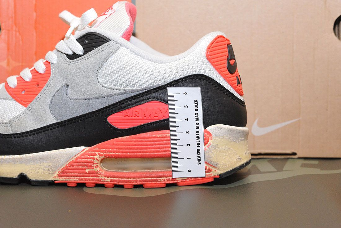 Nike Air Max 90 Infrared 2008 Air Bubble Ruler