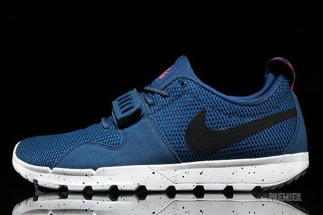 Nike Sb Trainerendor Bluepink 1