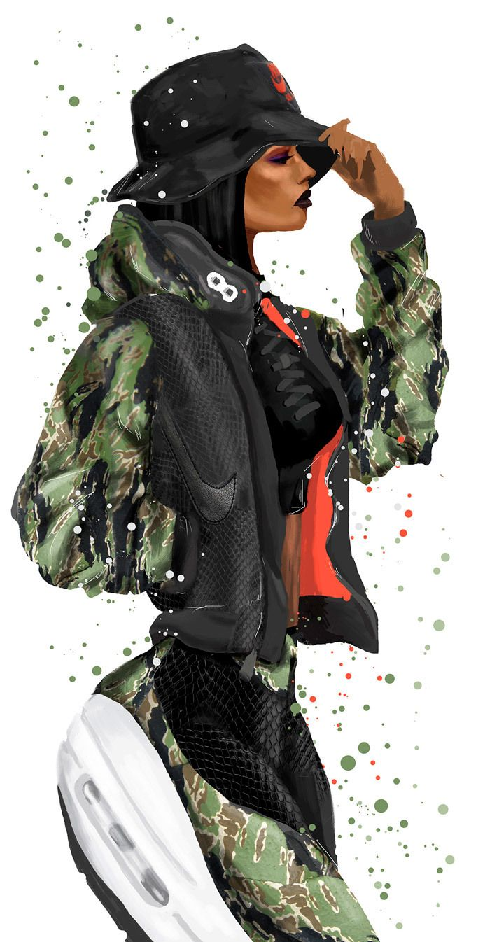 Reina Koyano Sole Fatale Atmos X Nike Air Max 1