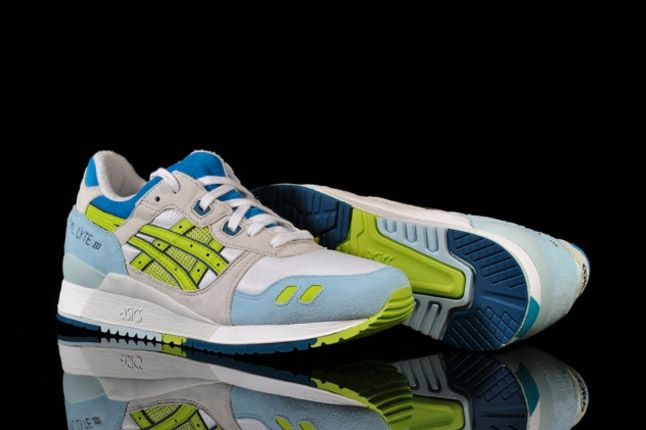 Asics Lady Gel Lyte Iii White Lime Sole Detail 1