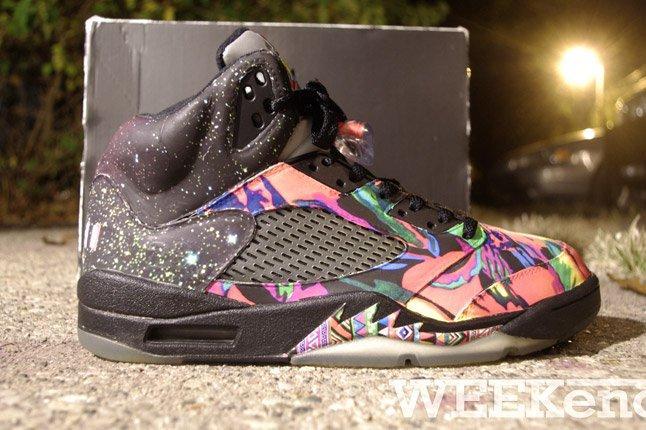 Fresh Prince Nike Air Jordan 5 Fresh Prince Profile 1
