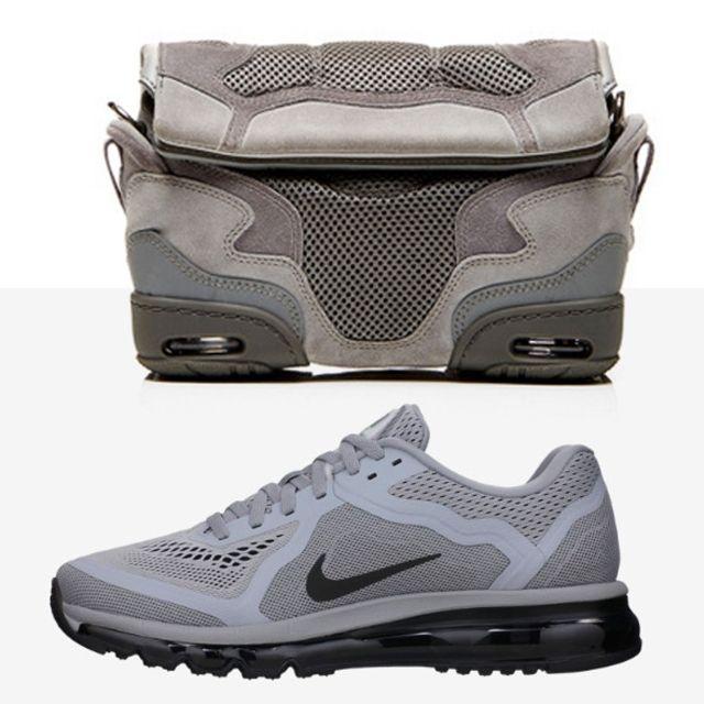 Alexander Wang Sneaker Bags Gray Mesh