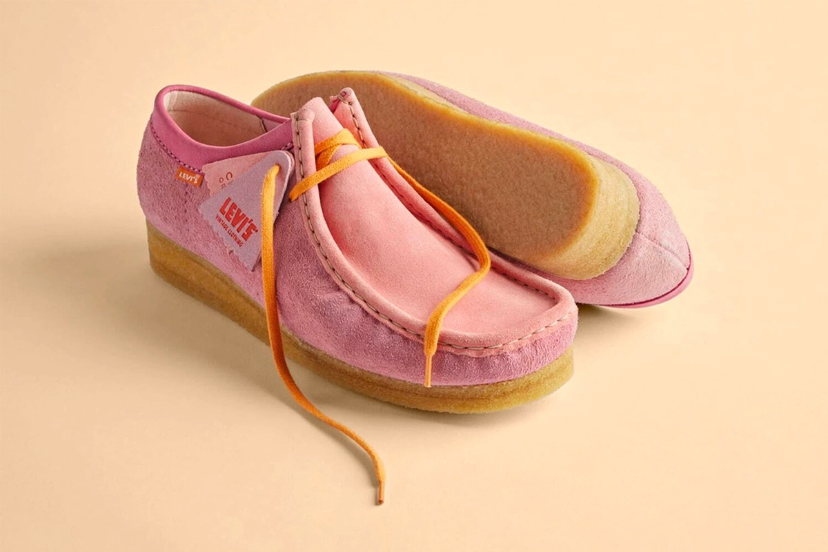 Levi's Vintage Clothing Clarks Wallabee