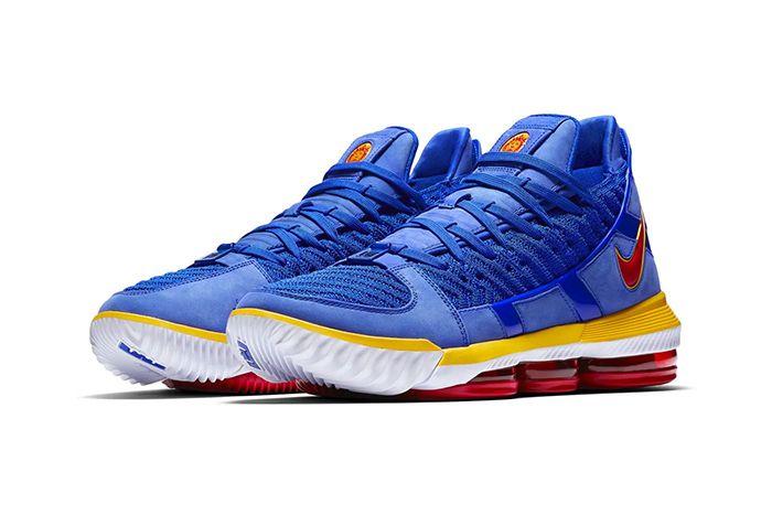 Nike Lebron 16 Sb Blue Cd2451 400 2