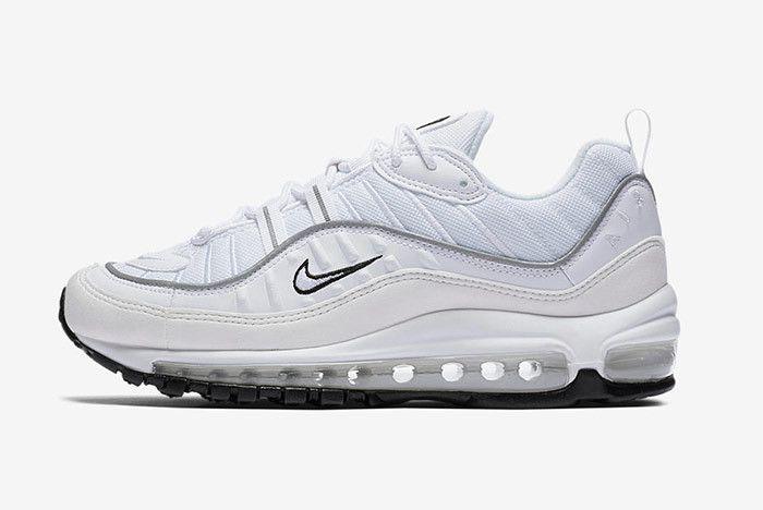 Nike Air Max 98 White 3