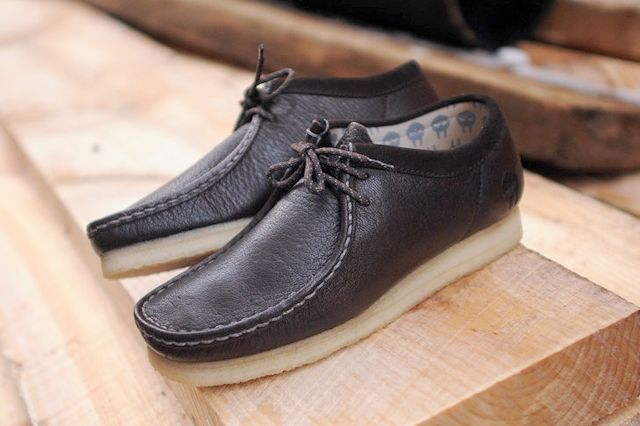 Clarks Mf Doom Wallabee Brown Thumb