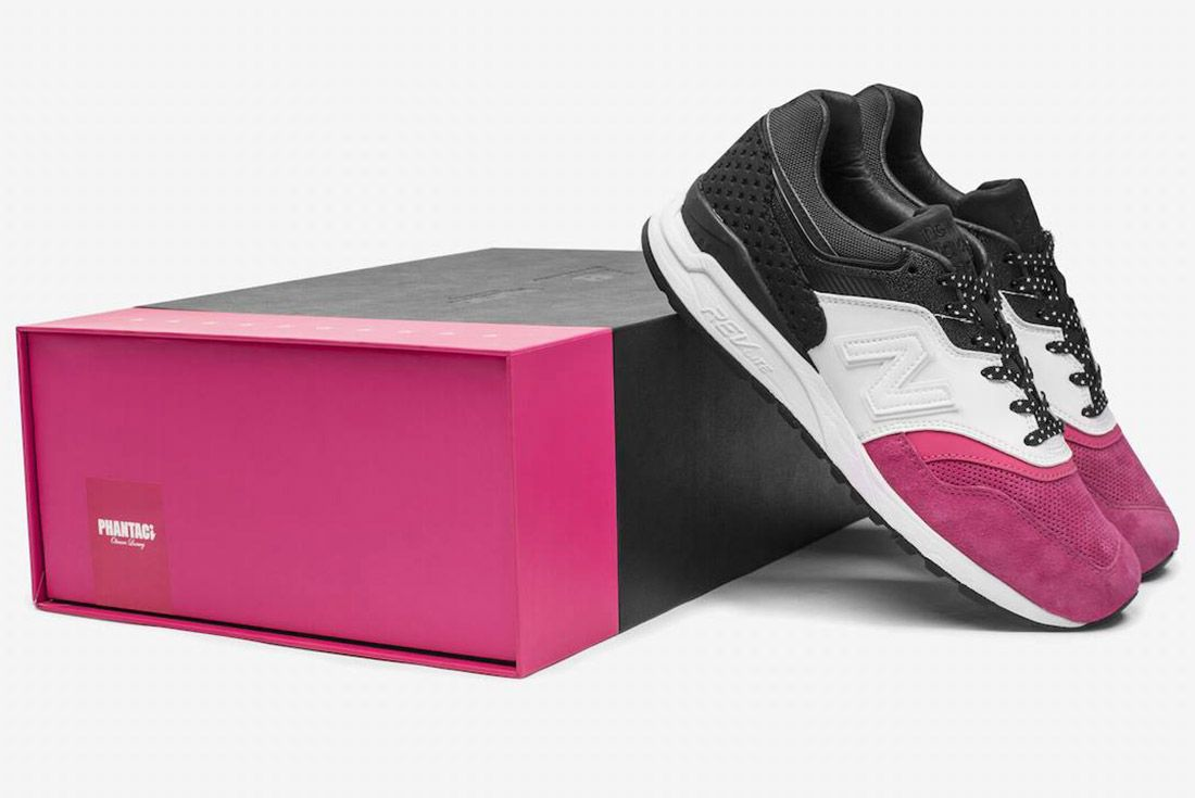Phantaci New Balance 997 5 Pink White Black 6