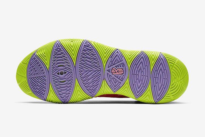 Nike Kyrie 5 Spongebob Patrick Star Sole