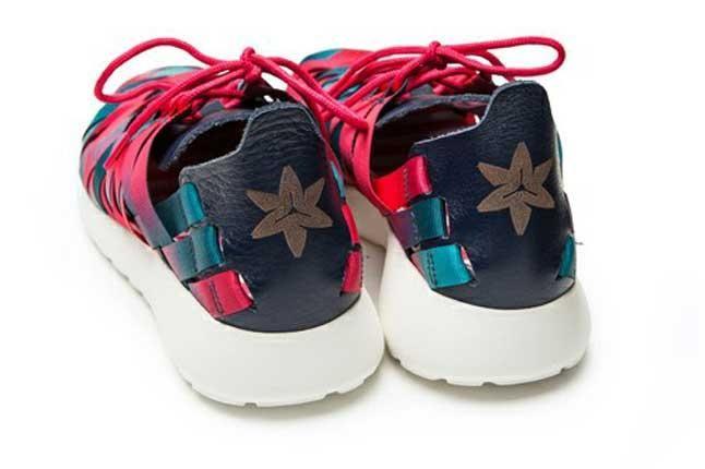 Nike Roshe Run Woven Nagoya Marathon Heel Profile 1