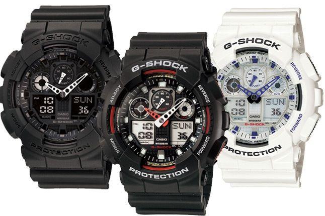 G Shock Ga 100 1