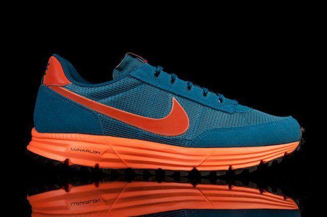 Nike Lunar Ldv Trail Qs Blue Org Thumb