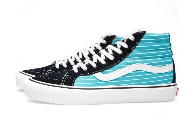 Vans Vault Og Sk8 Hi Lx Stripes Pack 7