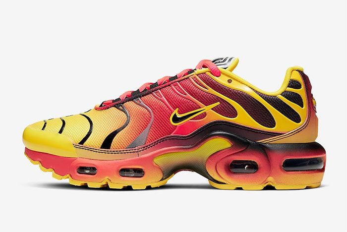Nike Air Max Plus Gradient Tiger Left