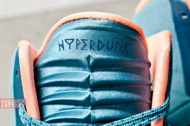 Nike Hyperdunk 2013 Mineral Teal Atomic Pink 5