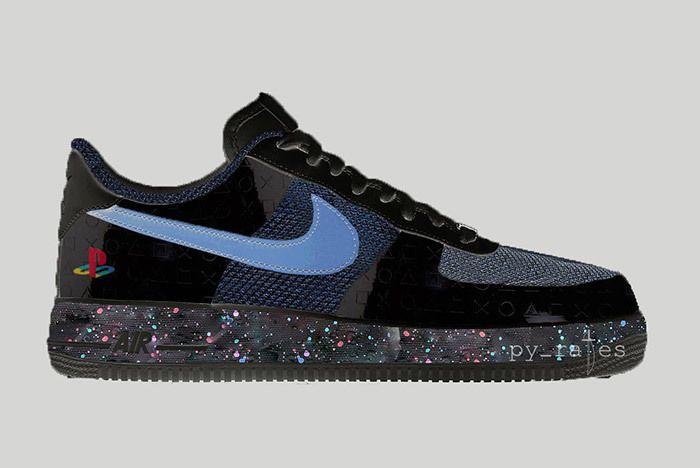 Sony Playstation X Nike Air Force 1 Low 2018 Sneaker Freaker 1