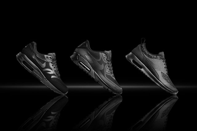 Nike Air Max Black Reflective Collection Womens