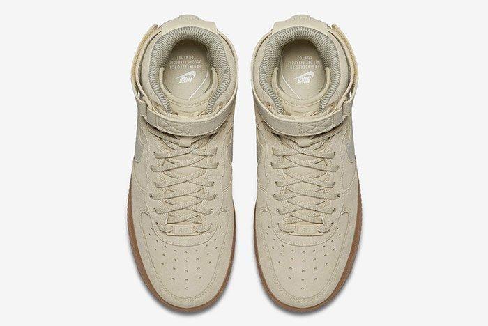 Nike Air Force 1 High Ivory Gum 3