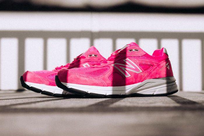 New Balance 990 V4 Komen Pink 7