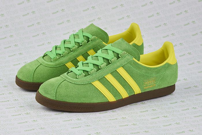 Size Adidas Trimm Master Lime Yellow 2