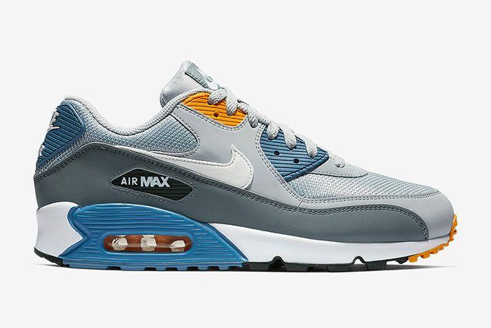Nike Air Max 90 Grey Blue 3