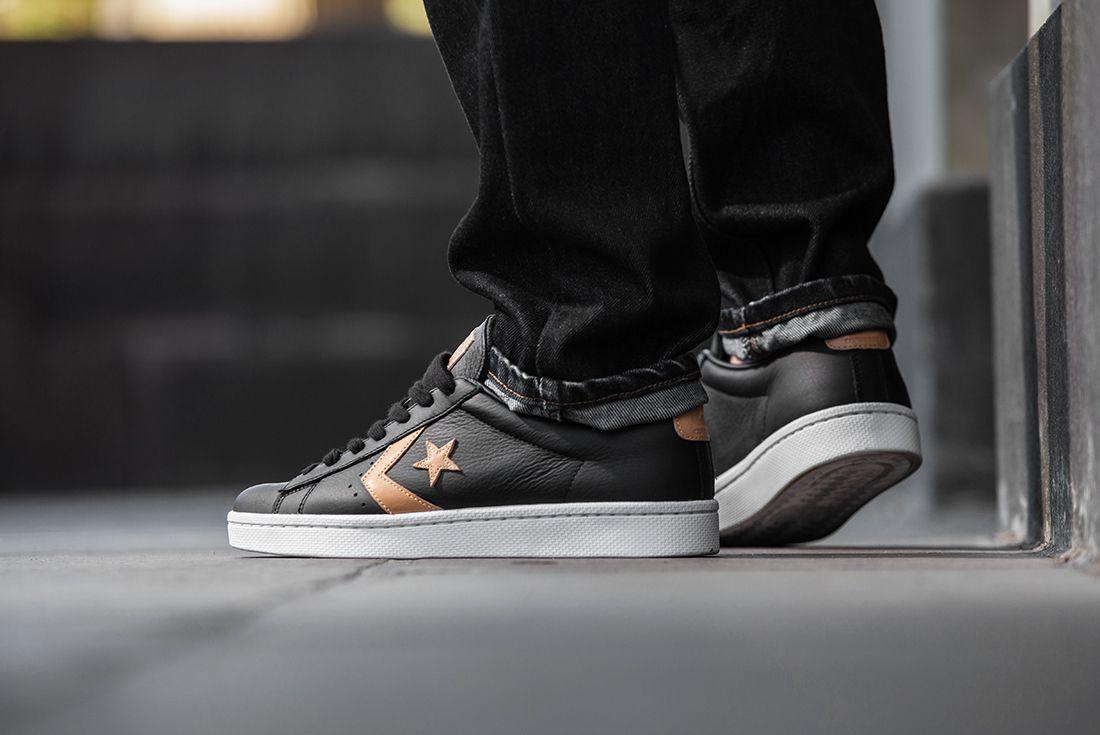 Cons Pro Leather Mens Blk Tan2