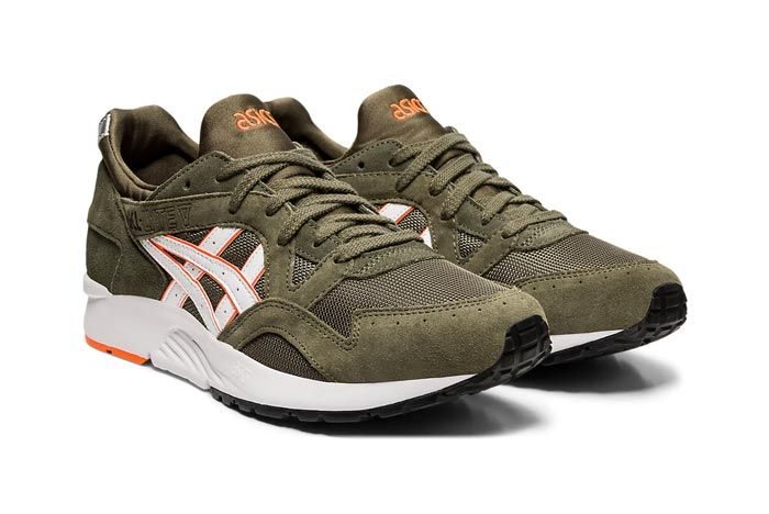 Asics Gel Lyte V Mantle Green Pair