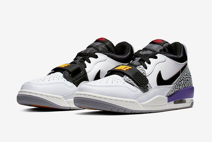 Jordan Legacy 312 Low Lakers Quarter