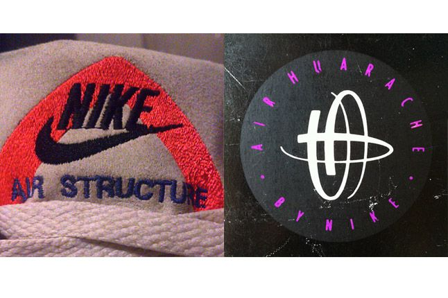 Structure Huarache Logo Sneaker Freaker 1