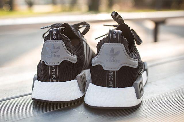 Adidas Nmd Runner Pk Black Grey 5