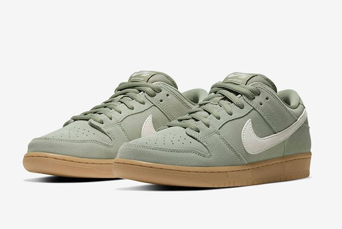 Nike Sb Dunk Low Horizon Green Bq6817 300 Front Angle
