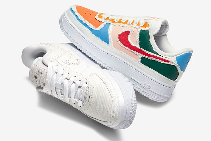 Nike Air Force 1 Multi Color Tear Away Cj1650 101 Top Shot