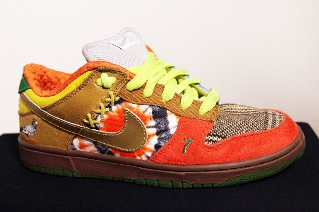 Franalations Nike Sb What The Dunk 4 1