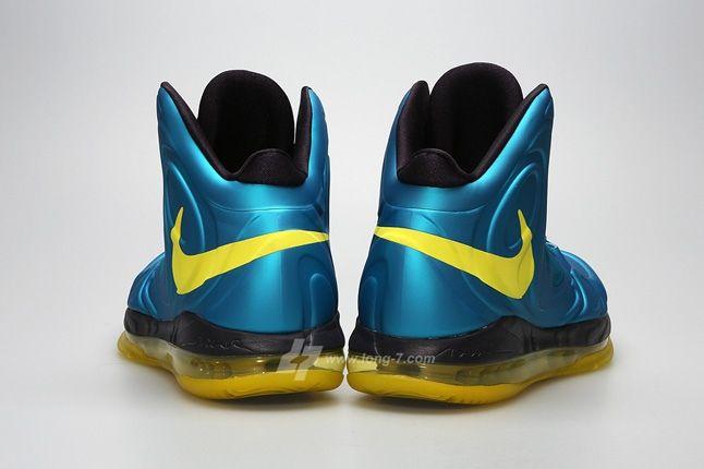 Nike Airmax Hyperposite Trpclblu Sncyllw Heel Profile 1