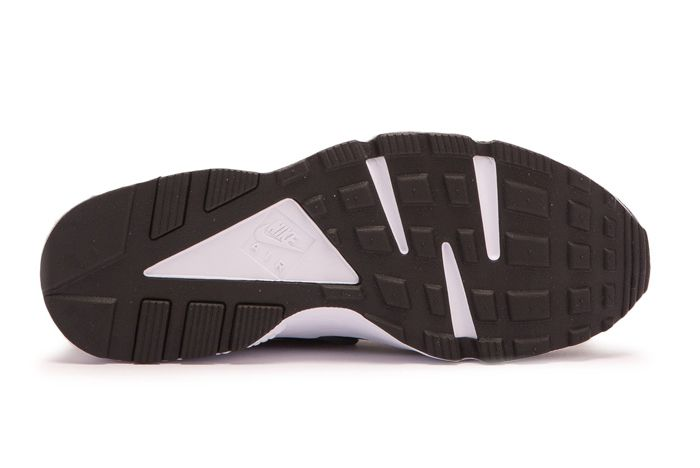 N Nike Air Huarache Run Premium Black 4