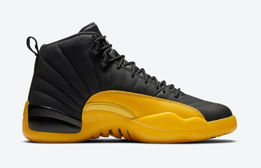 Air Jordan 12 University Gold Right