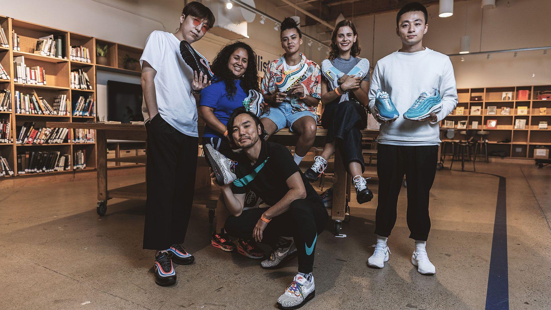 nike air max on air winners sneakers