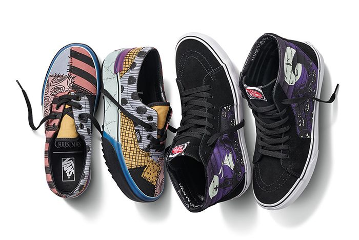 Vans Nightmare Before Christmas Group Shot On White