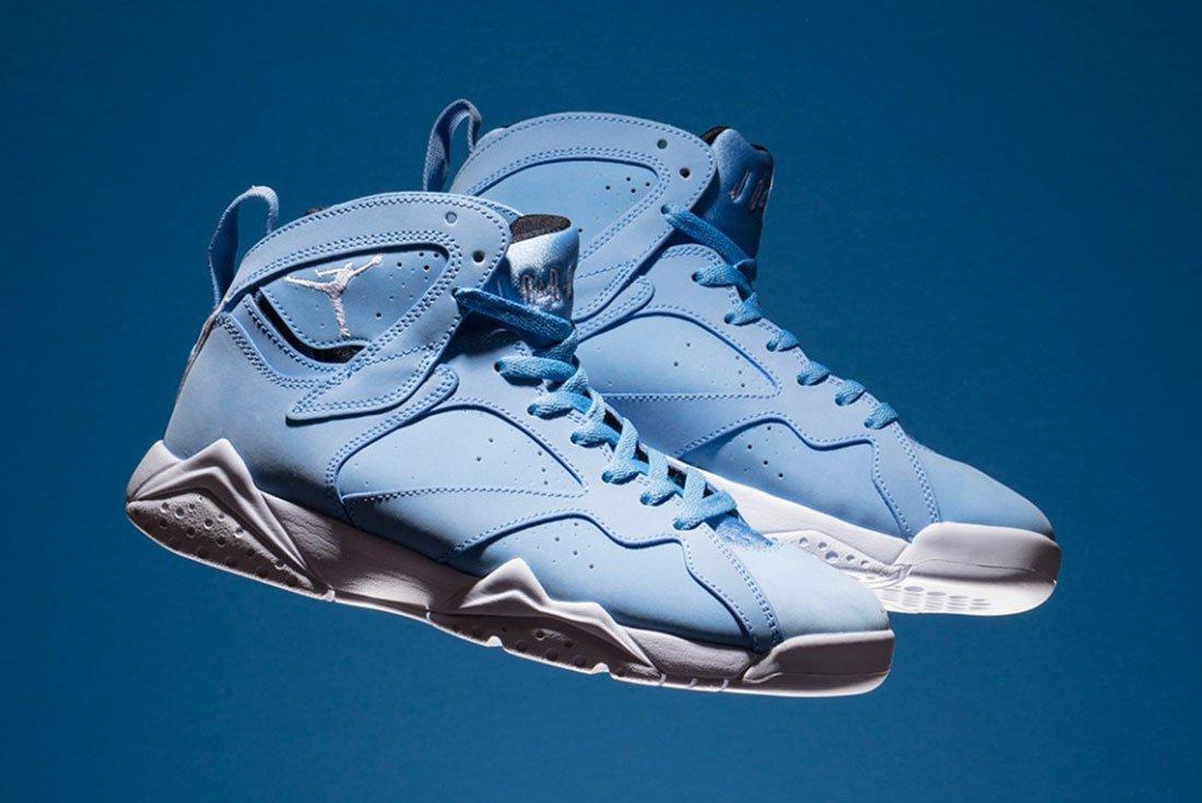 Air Jordan 7 University Pantone Blue 2