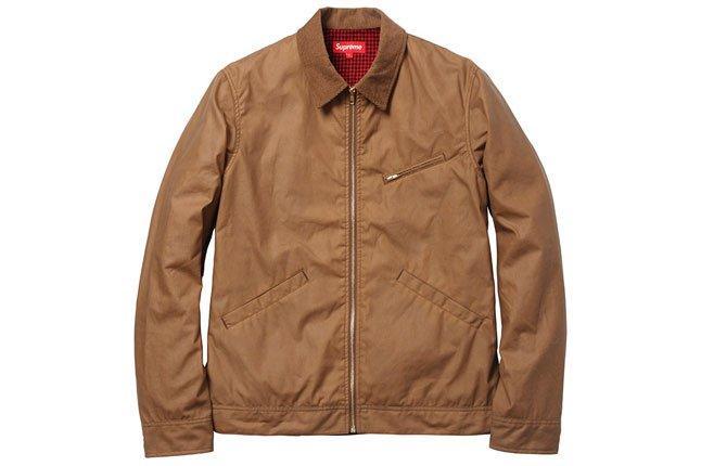 Supreme Tan Workers Jacket 1