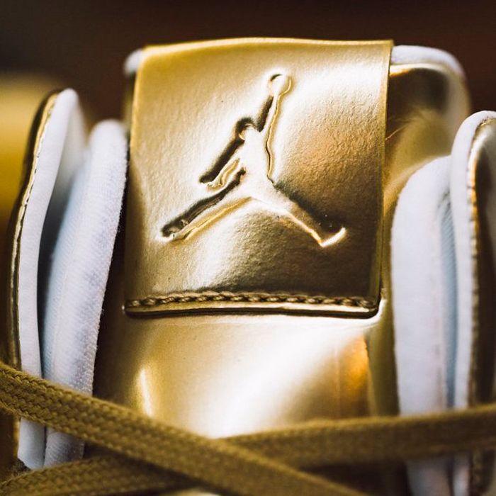 Air Jordan Xxxi Gold