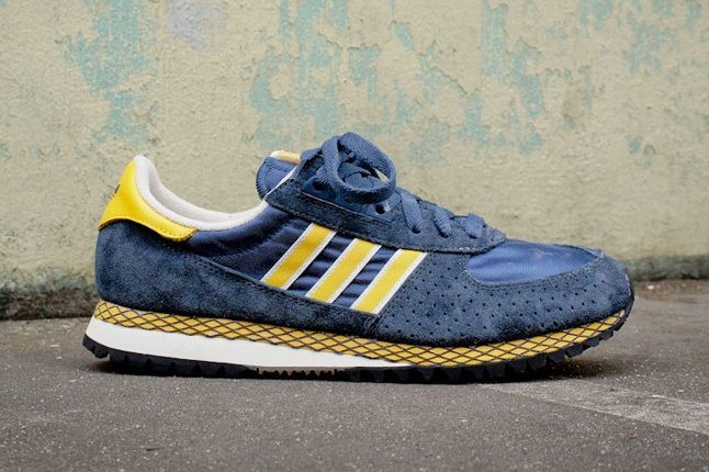 Adidas Originals Marathon Pt Navy Yellow 4