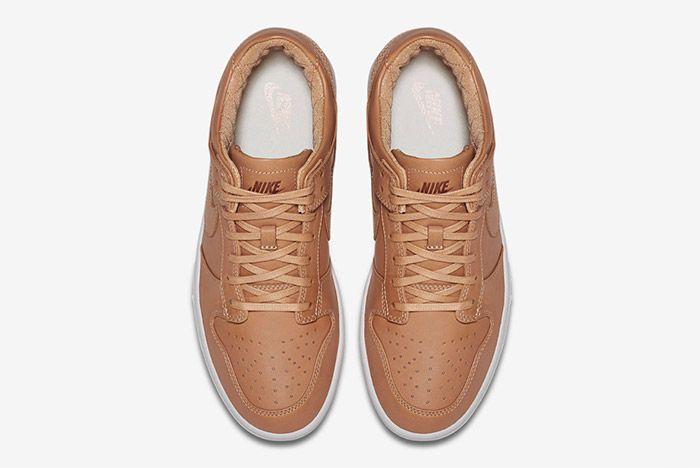 Nike Dunk Lux Low Vachetta Tan 4