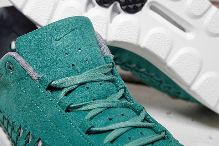 Nike Mayfly Woven Teal 3