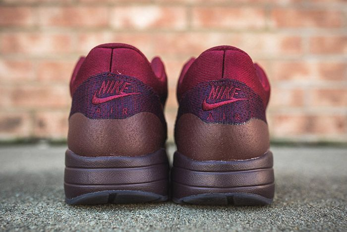 Nike Air Max 1 Ultra Flyknit Grand Purple Team Red 4